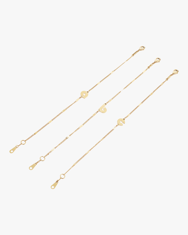 Modernist Monogram Bracelet