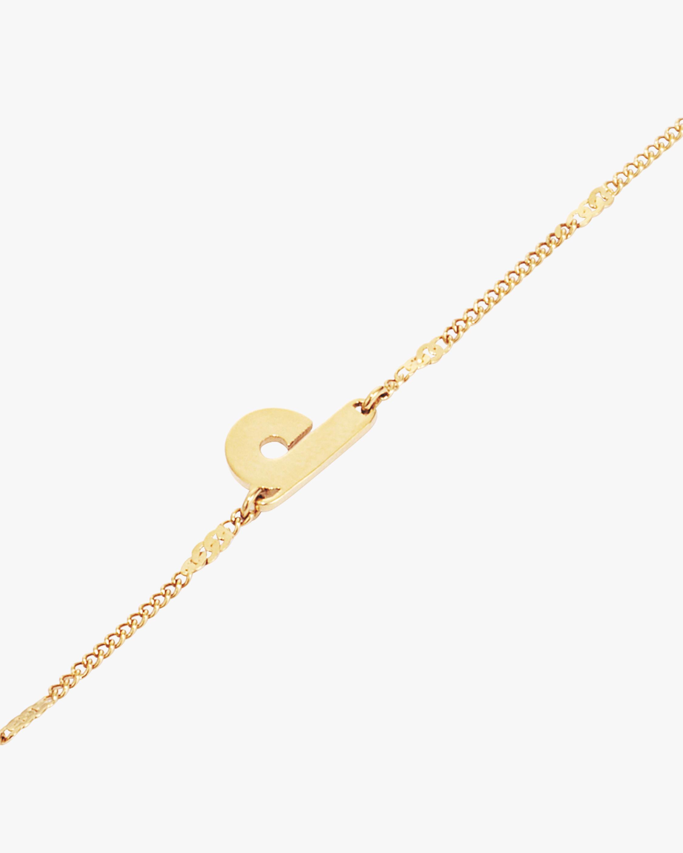 Jenny Bird Modernist Monogram Bracelet 1