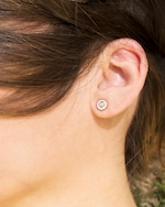 Chérut Diamond Eye Stud Earrings 1