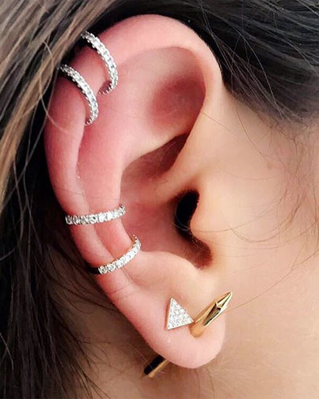 Chérut Single Gold Earring 2