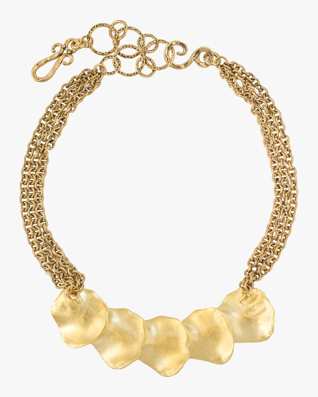 Stephanie Kantis Raincatcher Gold Necklace 2