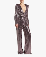 Badgley Mischka Sequin Pants 4