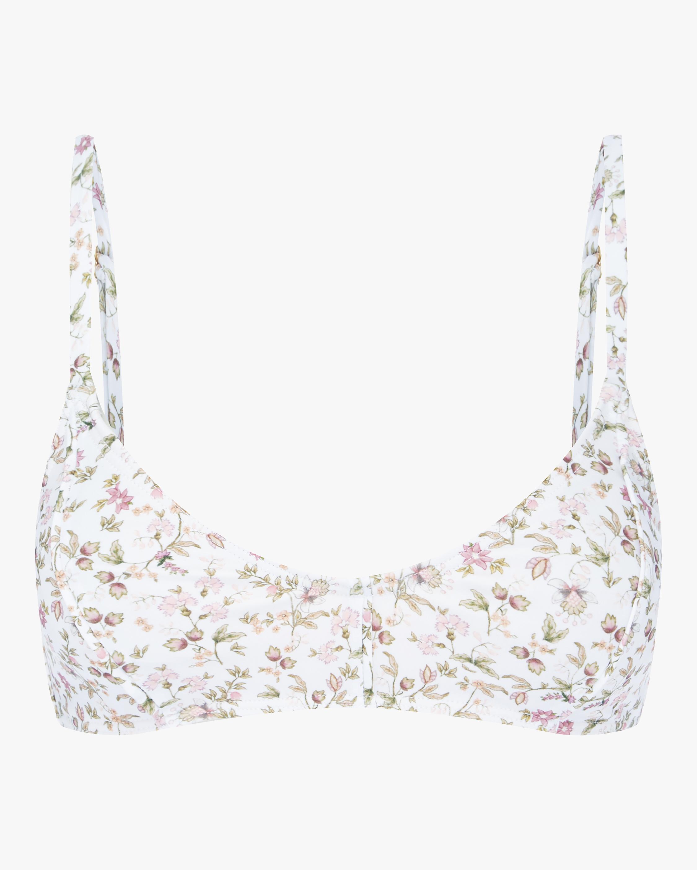 La Boheme Piped Bralette Bikini Top