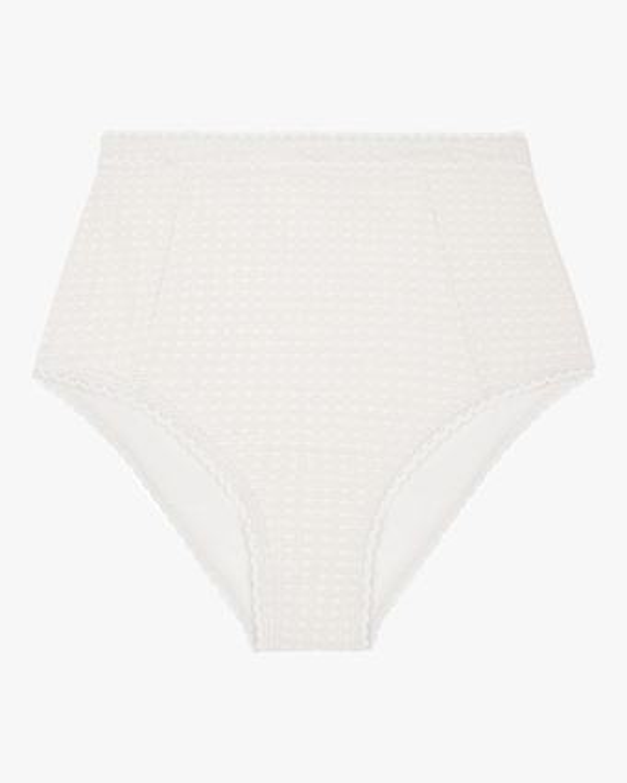 Wicker Midi Bikini Bottom