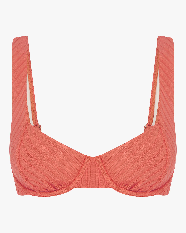 Tangerine Balconette Bikini Top