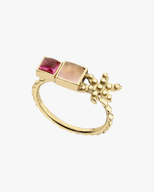 Gaya Pink Flower Ring 0