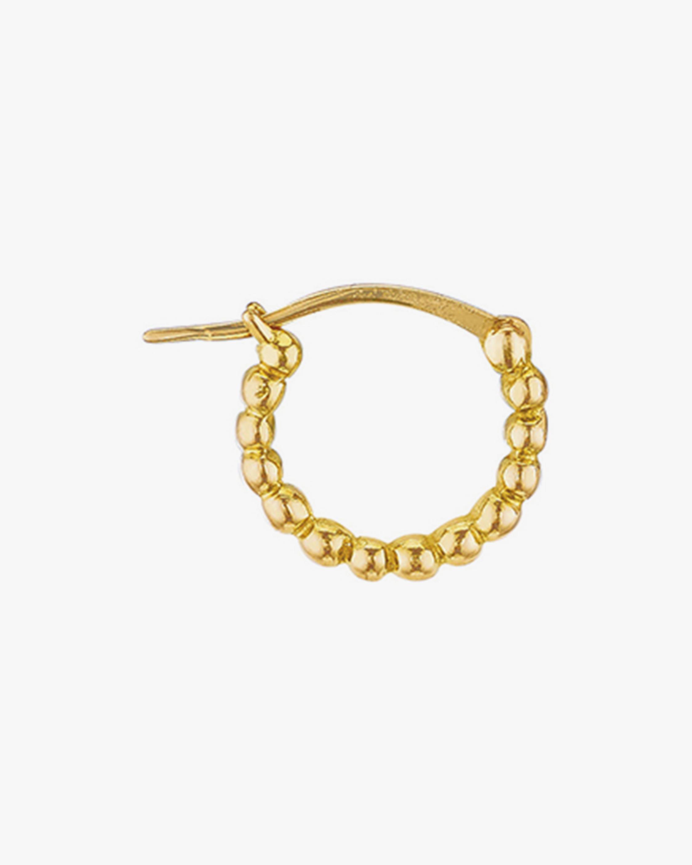 Gaya Single Mini Gold Hoop 0