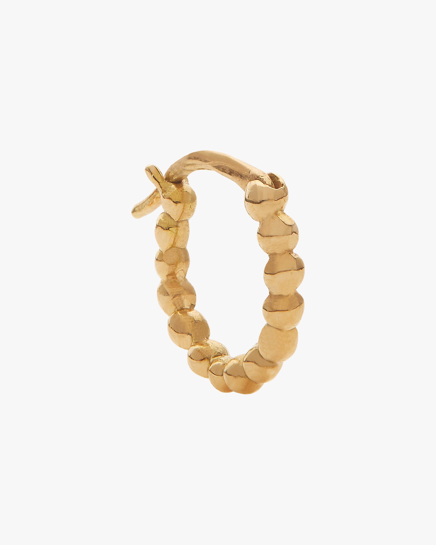 Single Mini Gold Hoop