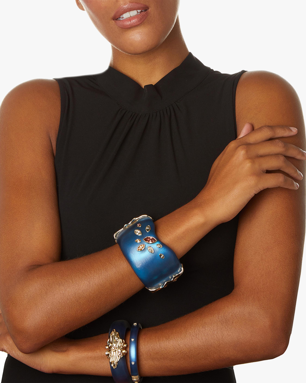 Spike Studded Hinge Bracelet