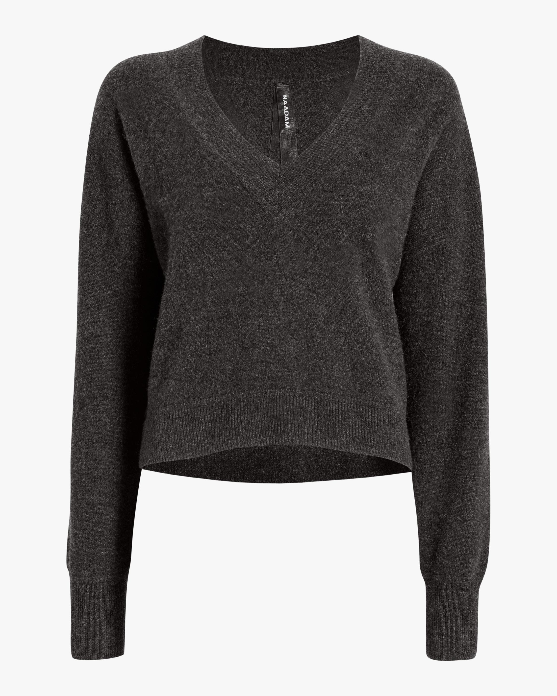 Deep V Neck Pullover