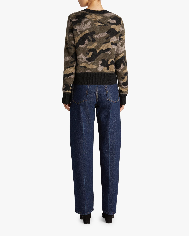 Naadam Camo Crewneck Sweater 2