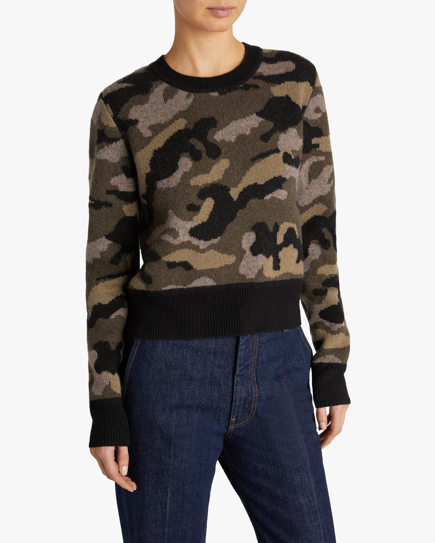 Naadam Camo Crewneck Sweater 3