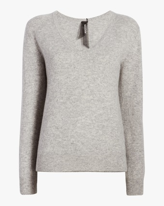 The Softest Cashmere V Neck Sweater