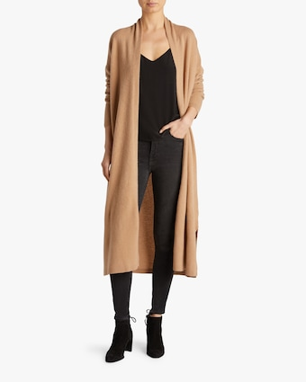 Long Cardigan Robe