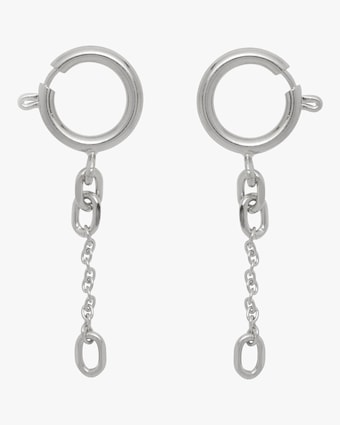 Lady Grey Clasp Earrings 1