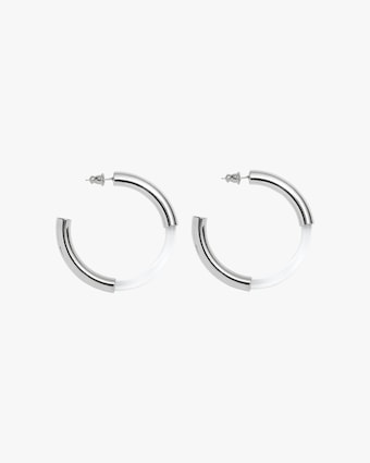 Lady Grey Mirage Hoop Earrings 1