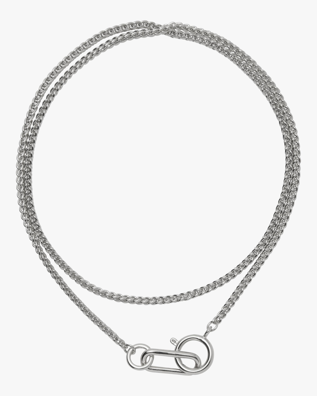 Lady Grey Plait Necklace 0