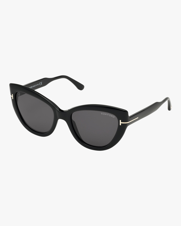 Tom Ford Anya Cat Eye Sunglasses 1