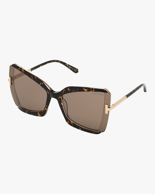 Tom Ford Gia Oversized Sunglasses 1
