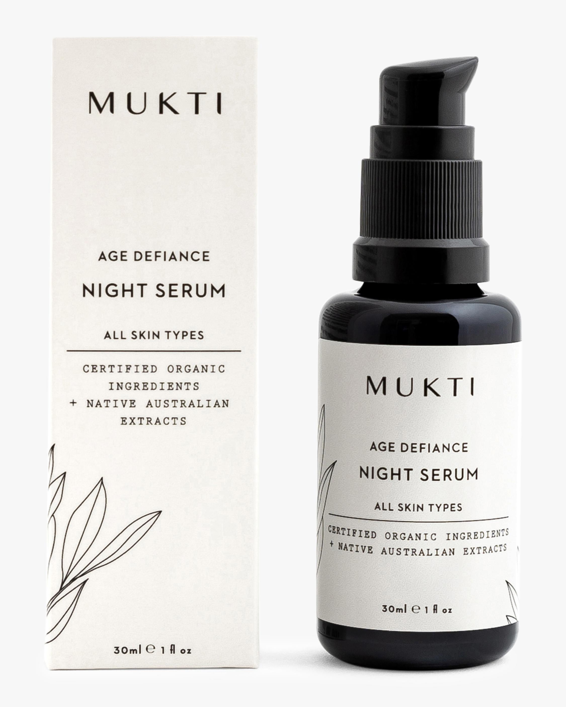 Mukti Age Defiance Night Serum 30ml 0