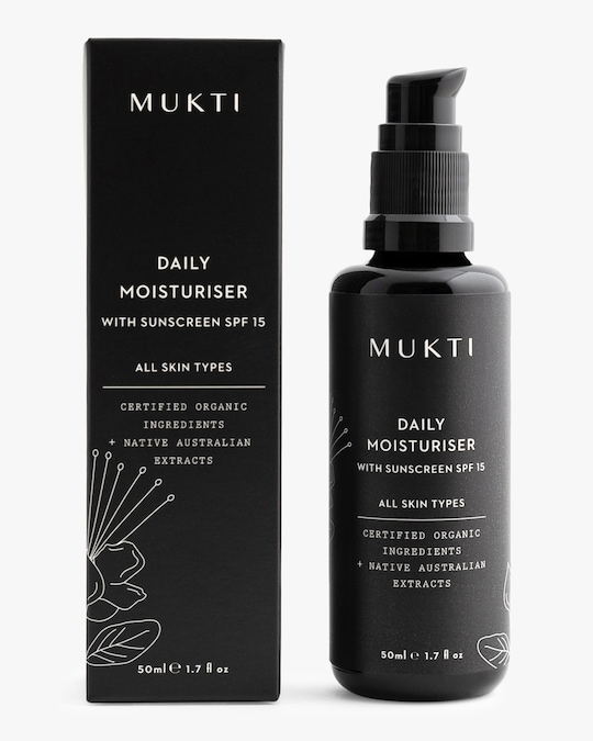 Mukti Daily Moisturiser 50ml 0