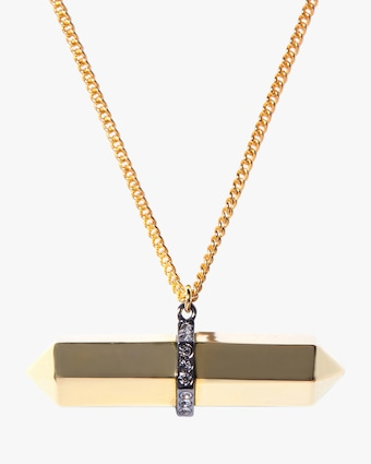 Colette Bar Pendant Necklace