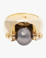 Via Saviene Sphere Statement Ring 0