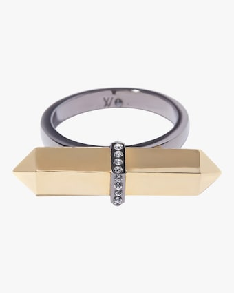 Via Saviene Mini Colette Bar Ring 1