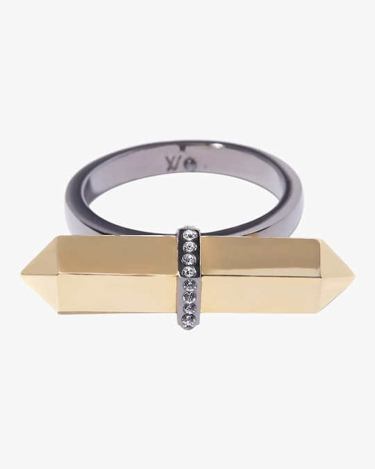 Via Saviene Mini Colette Bar Ring 0