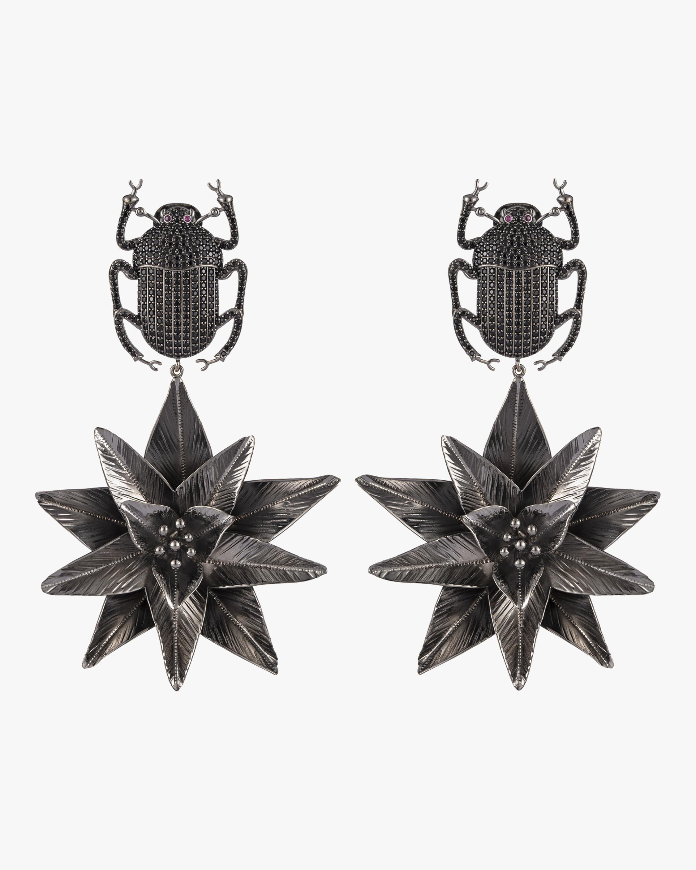 Pharaoh Lotus Earrings