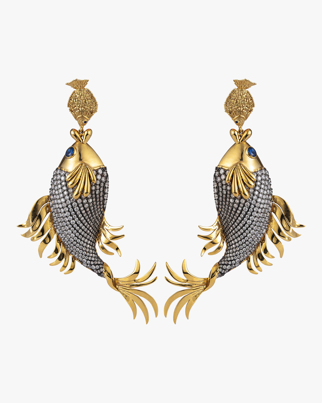 Mini Fish & Koifish Earrings