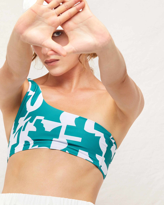Mikoh Moni One-Shoulder Bikini Top 4