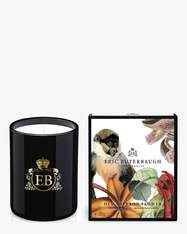 Oud Saffron Flower Candle 240g
