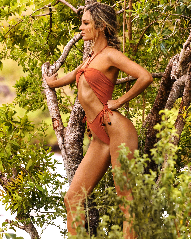 Savanna Midriff One Piece Swimsuit