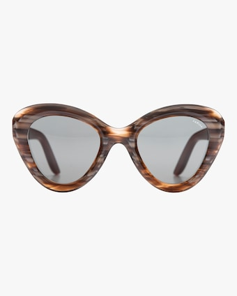 Rita Almond Cat-Eye Sunglasses
