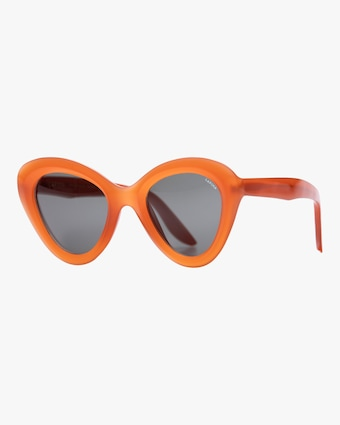 Rita Papaya Cat-Eye Sunglasses