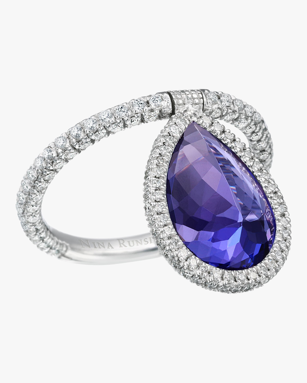 Tanzanite Flip Ring