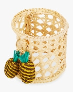 Mercedes Salazar Home Set-of-Two Pineapple Napkin Ring 0