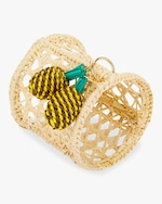 Mercedes Salazar Home Set-of-Two Pineapple Napkin Ring 1