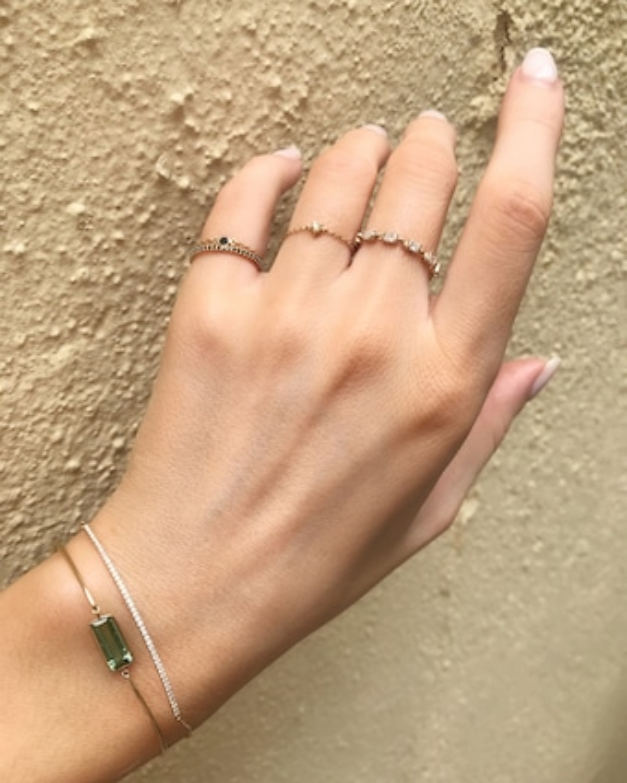 Yi Collection Diamond Bar Bracelet 2