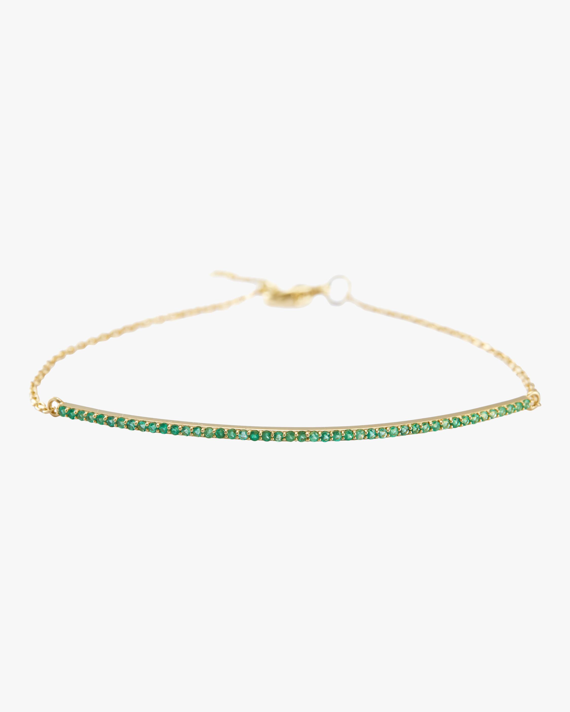 Emerald Bar Bracelet