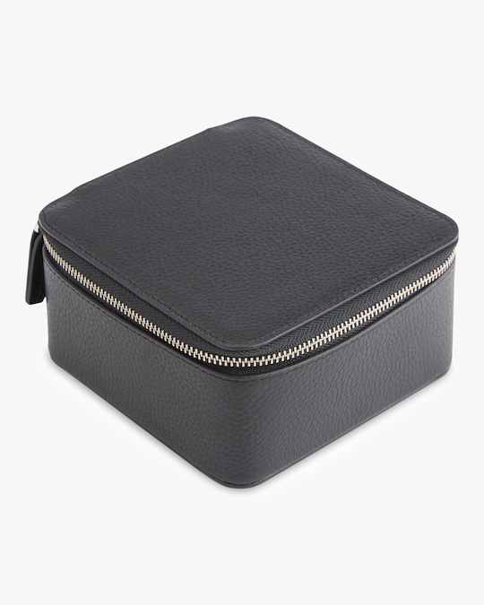 ROYCE New York Suede Lined Travel Jewelry Box 0