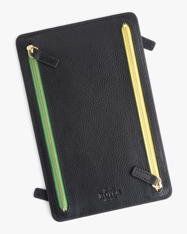 ROYCE New York RFID Blocking Four Zip Travel Pouch 0