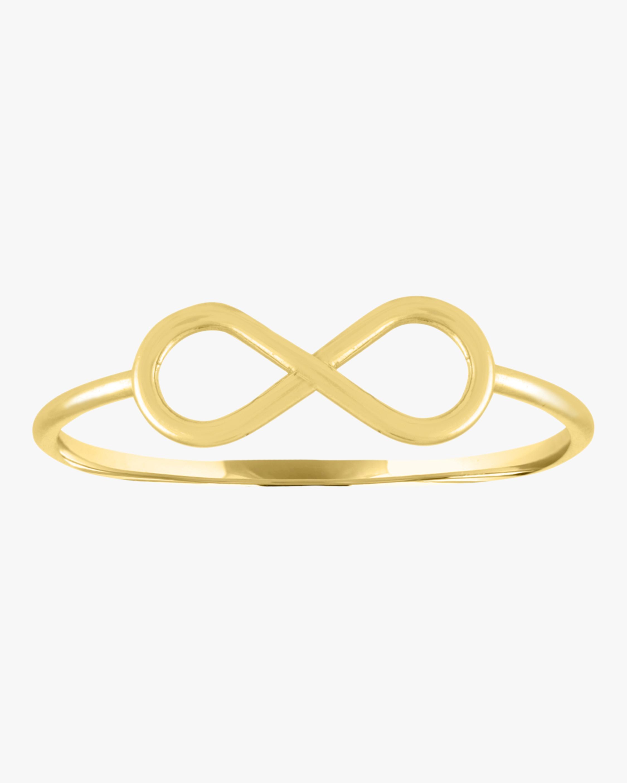 Eden Presley Infinity Mantra Gold Ring 2