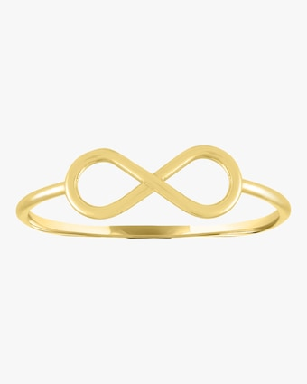 Infinity Mantra Gold Ring