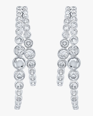 Modern Maharani Double Hoop Earrings
