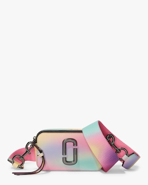 Snapshot Airbrushed Crossbody Bag