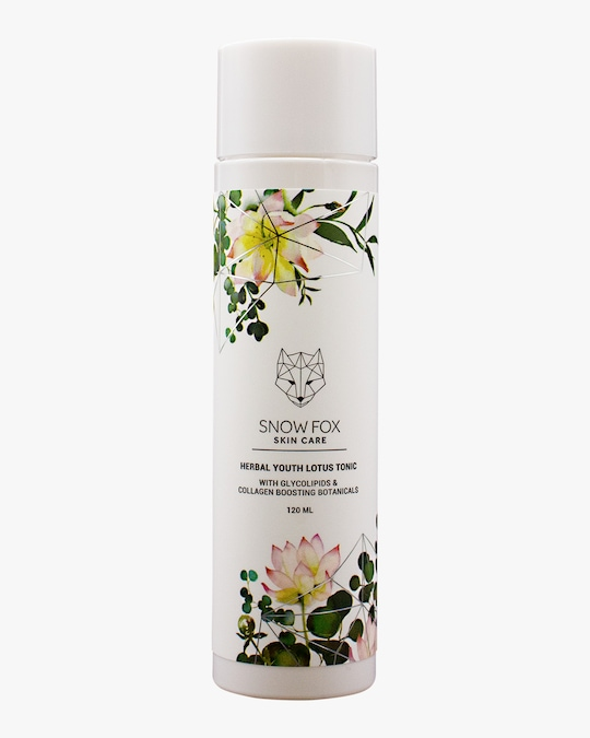 Snow Fox Herbal Youth Lotus Toner 120ml 0