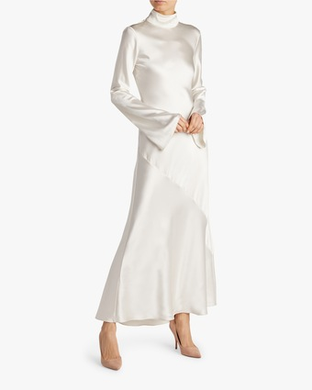Turtleneck Bias Gown