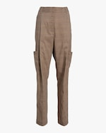Divine Heritage Front Pleated Pants 0